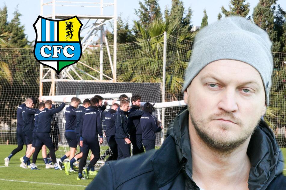 """Chemnitzer FC verzichtet aufs Türkei-Camp: """"Macht wenig Sinn!"""""""
