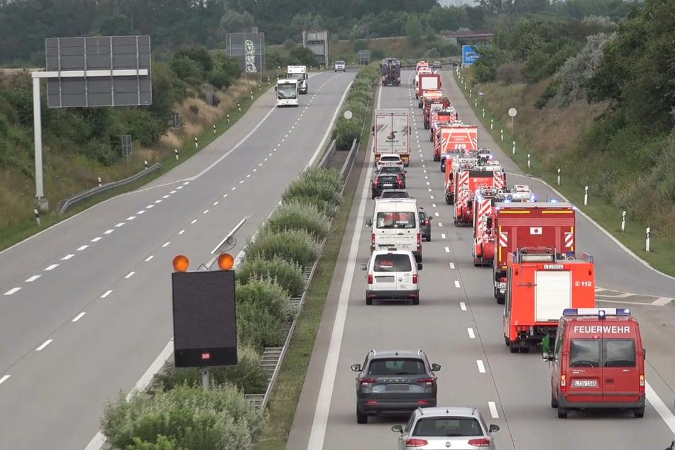 18 Fahrzeuge konnten zur Verfügung gestellt werden.