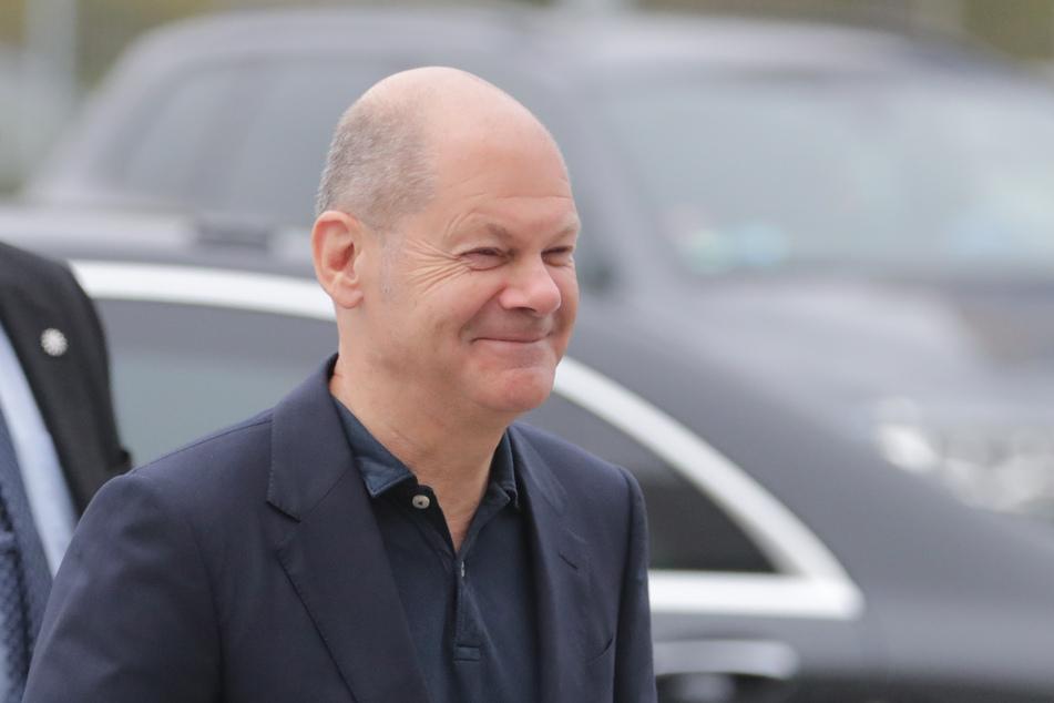 """Olaf Scholz (63) verspricht sich viel von der """"revolutionären Reform"""" der Unternehmenssteuern."""