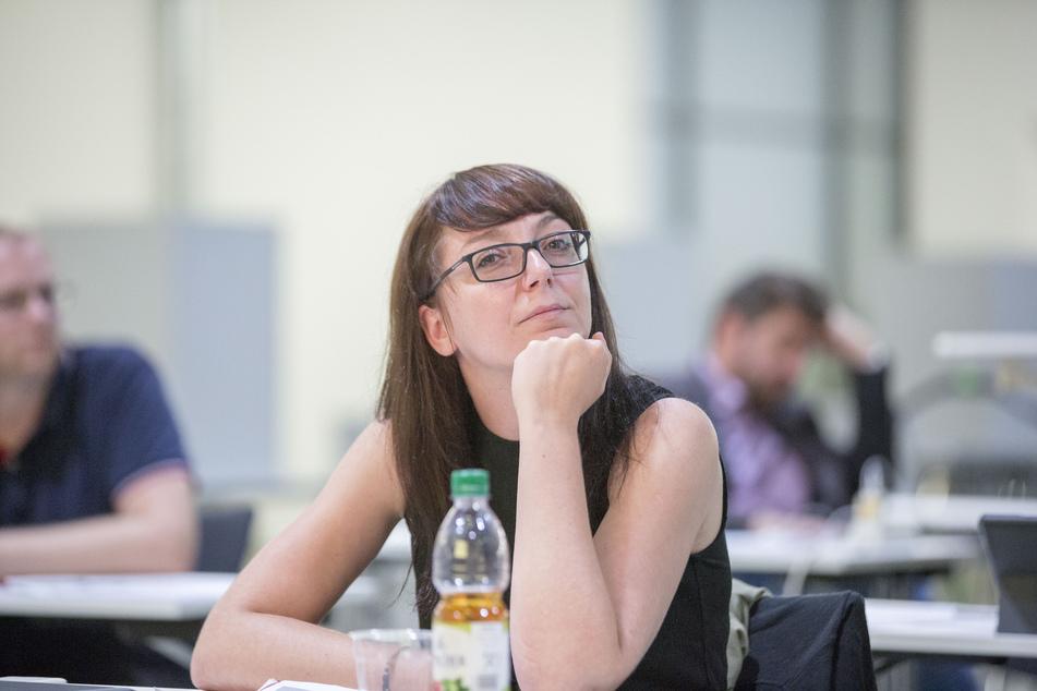 Linken-Stadträtin Katharina Hanser (36).