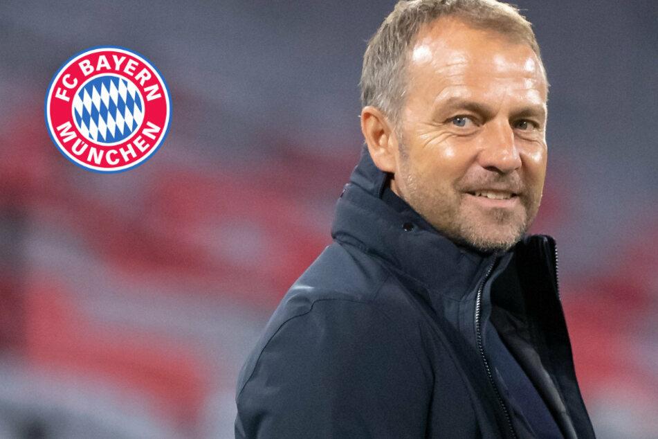"""Keine Kabine in Bielefeld: Bayern müssen sich in Schule umziehen, Trainer Flick findet es """"optimal"""""""