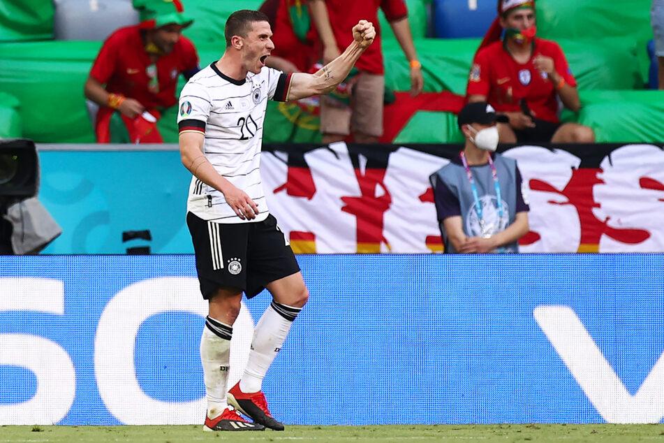 Robin Gosens (26) glänzte für Deutschland mit einem Tor, zwei Vorlagen und viel Dynamik.