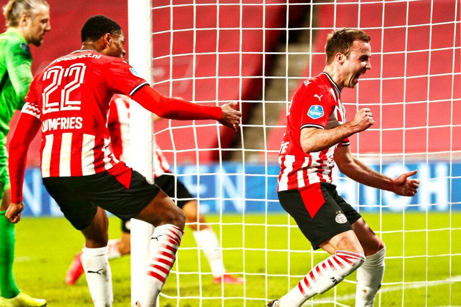 Ex-BVB-Star Mario Götze meldet sich mit Doppelpack zurück und führt PSV Eindhoven zum Sieg!
