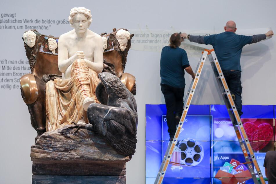 Leipzigs Museum der bildenden Künste stellt bis Juni Werke von Max Klinger und seinen Weggefährten aus.