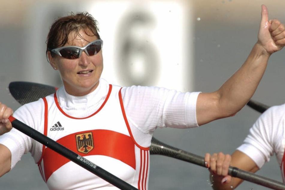Acht Mal Gold und vier Mal Silber: Birgit Fischer gilt als Rekord-Kanutin.