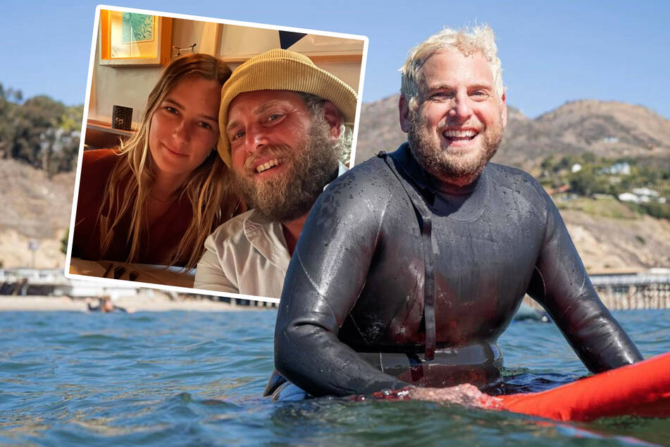 Catching the wave: Jonah Hill has a new love