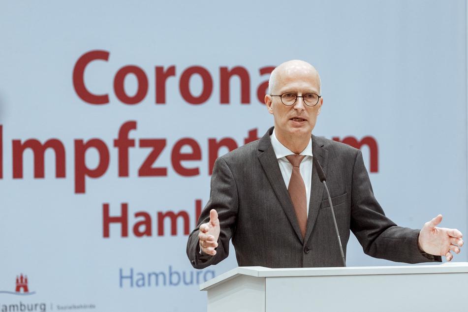 Peter Tschentscher (SPD), Erster Bürgermeister Hamburgs, setzte sich für das 2G-Modell ein.