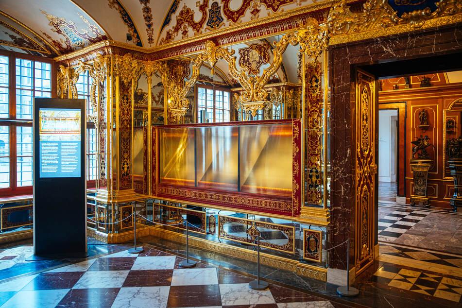 Dresden: Grünes Gewölbe in Dresden: Geplünderte Vitrine wieder bestückt
