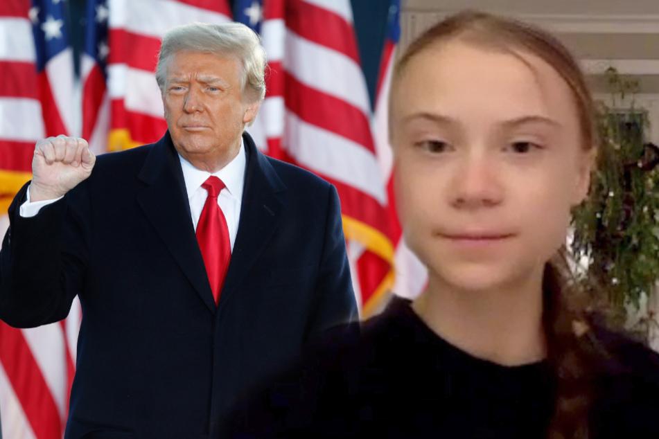 Schön gehässig: So fies rächt sich Greta Thunberg jetzt an Donald Trump