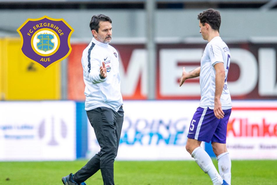 Trotz Niederlage: Aue-Trainer Schuster lobt sein Team in höchsten Tönen!
