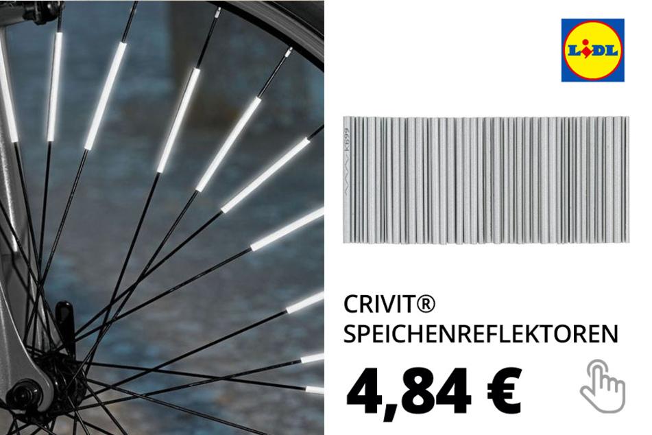 CRIVIT® Speichenreflektoren, 36 Stück