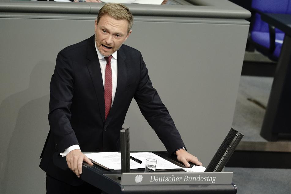 Christian Lindner, Fraktionsvorsitzender und Parteivorsitzender der Freien Demokraten.