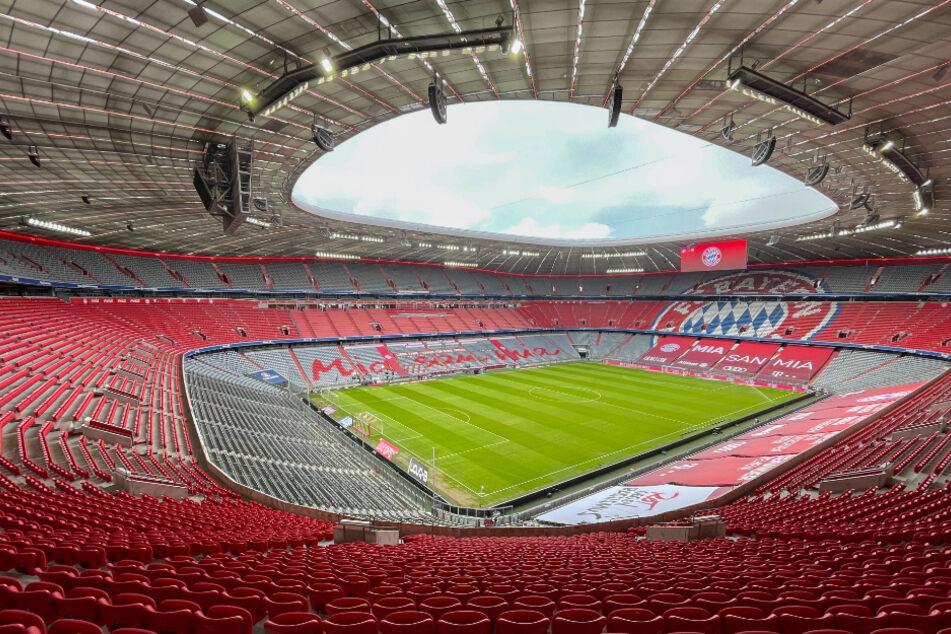 Die Allianz Arena in München: hier sollen die Gruppenspiele der deutschen Nationalmannschaft stattfinden.