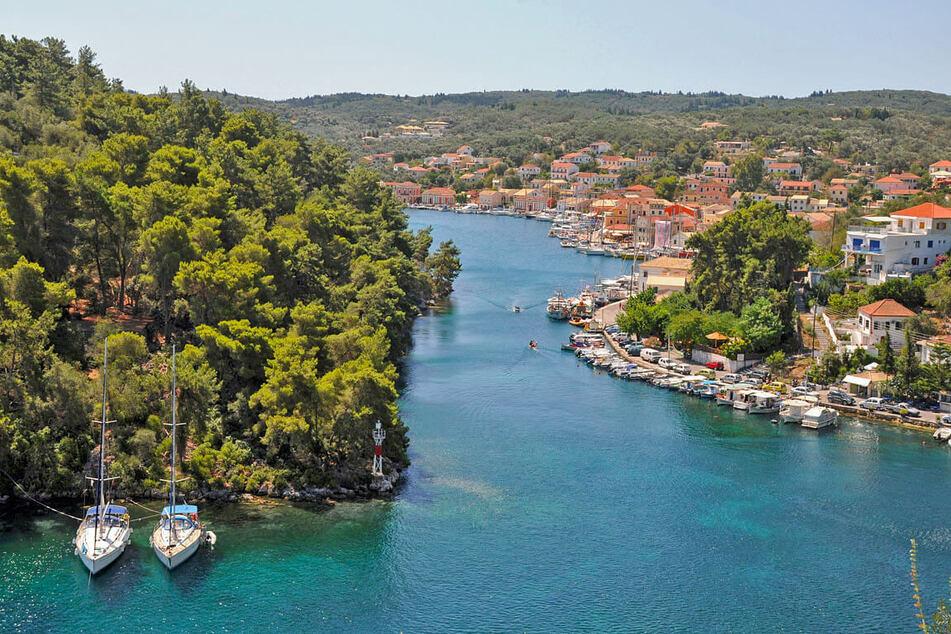 Der Kanal des größten Ortes auf Paxi, Gaios, ist wirklich eine Reise wert!