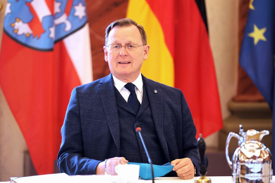 Bodo Ramelow (Die Linke) ist der Ministerpräsident von Thüringen.