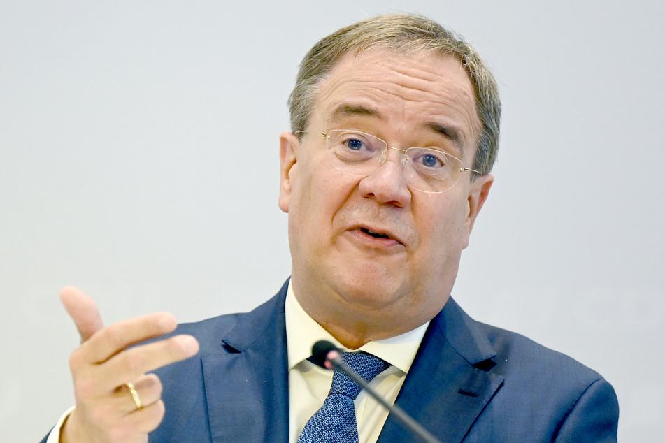 NRW-Ministerpräsident und Kanzlerkandidat Armin Laschet (60, CDU).