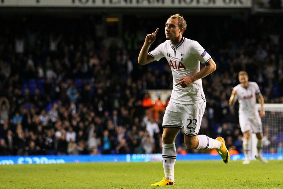 Zweites Spiel, erstes Tor! Christian Eriksen netzte am 19. September 2013 erstmals für Tottenham ein und erzielte beim 3:0-Sieg in der Europa League gegen Tromsö IL aus Norwegen den Treffer zum Endstand.