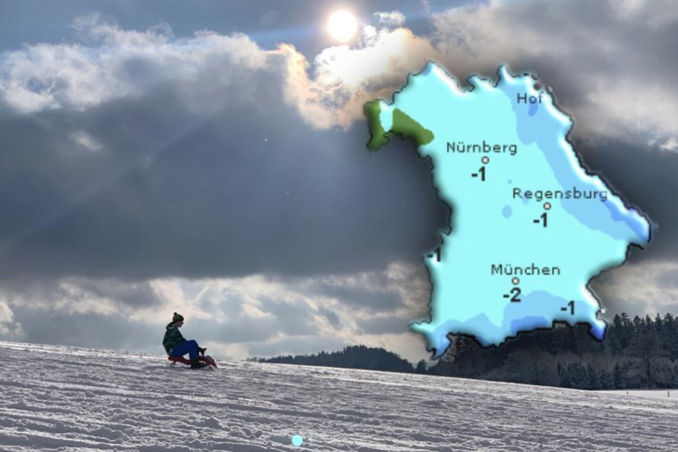 """Wetter in Bayern: Tief """"Flavio"""" bringt noch mehr Schnee!"""