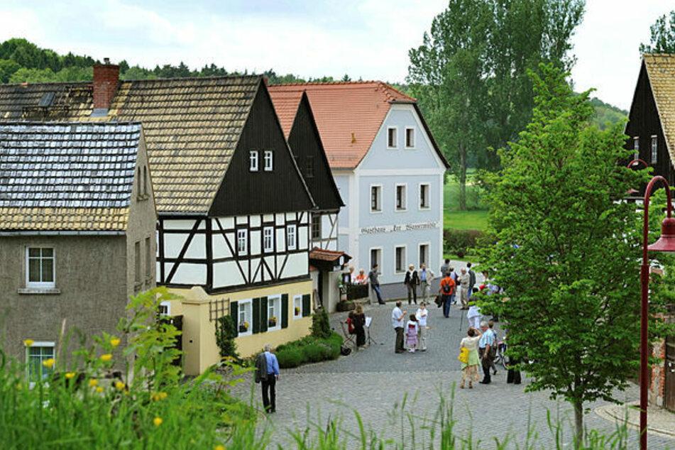 In Höfgen bei Grimma kann man die Seele baumeln lassen.