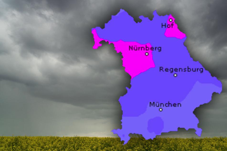 Starkregen, Gewitter und stürmische Böen! So wird das Wetter in Bayern