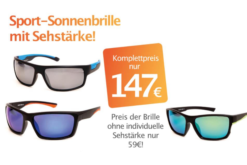 Sportsonnenbrillen zum Komplettpreis für nur 147 Euro