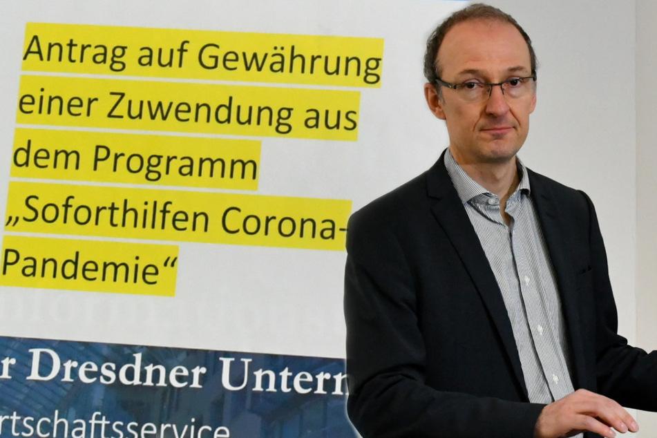 Dresden: Dresdens Soforthilfe: Jeder zehnte Antragsteller kriegt kein Geld