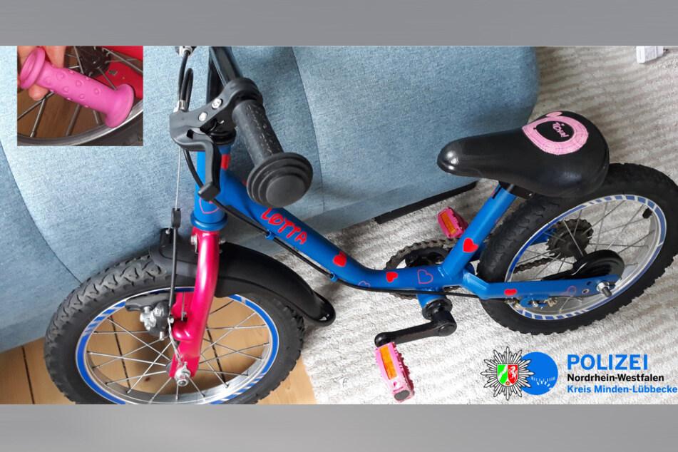 Das Rad der kleinen Lotta (3) wurde nur einen Tag nach ihrem Geburtstag gestohlen.
