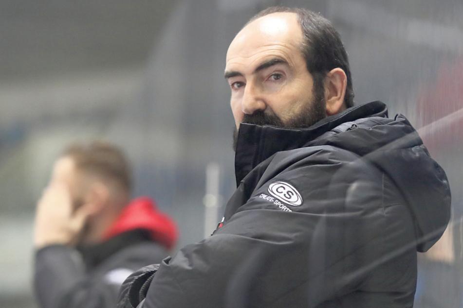 ETC-Coach Mario Richer war nicht zufrieden mit dem Spiel seiner Mannschaft.