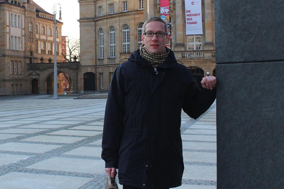 Sebastian Liebold (38, CDU) will mit dem Thema Infrastruktur punkten.