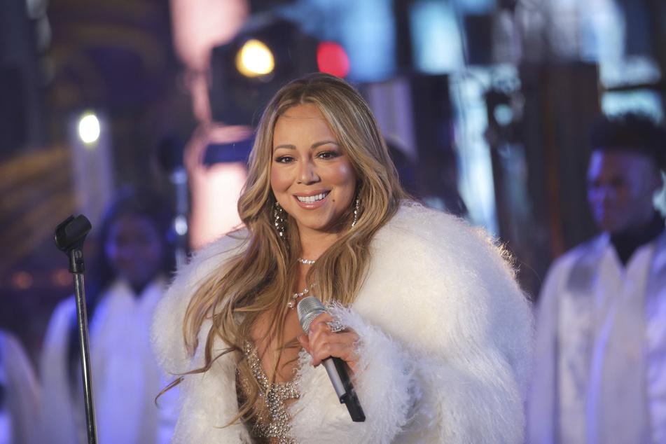 Mariah Carey bei einer Silvesterfeier in New York. (Archivbild)