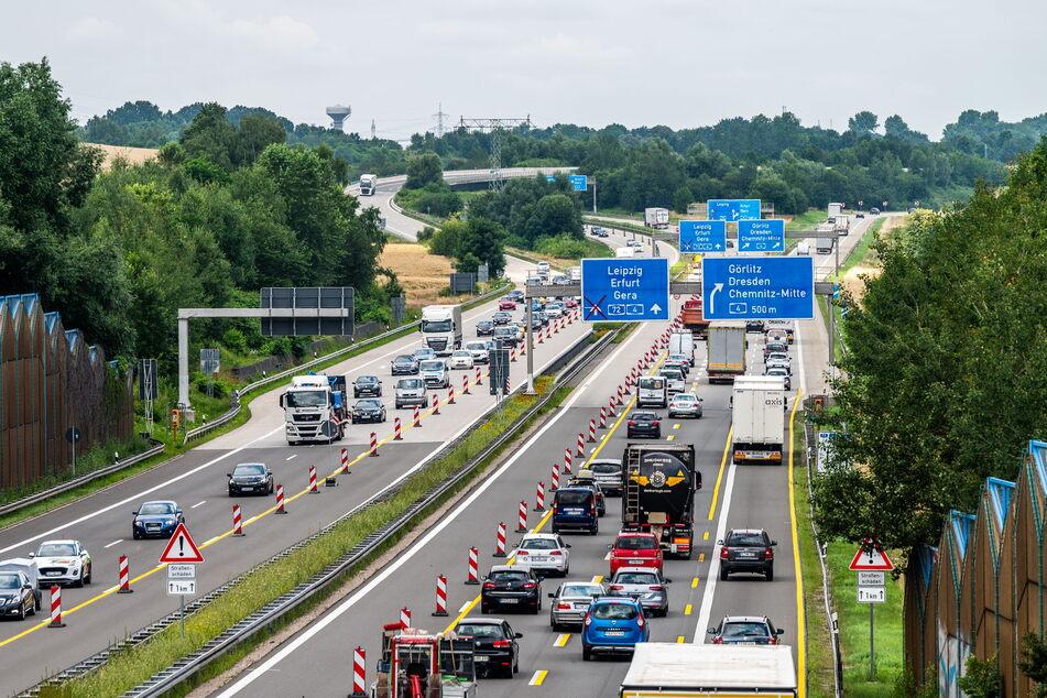Baustellen Chemnitz: Auf A4 und A72 ist Geduld gefragt! Kreuz Chemnitz wird zur Stau-Falle