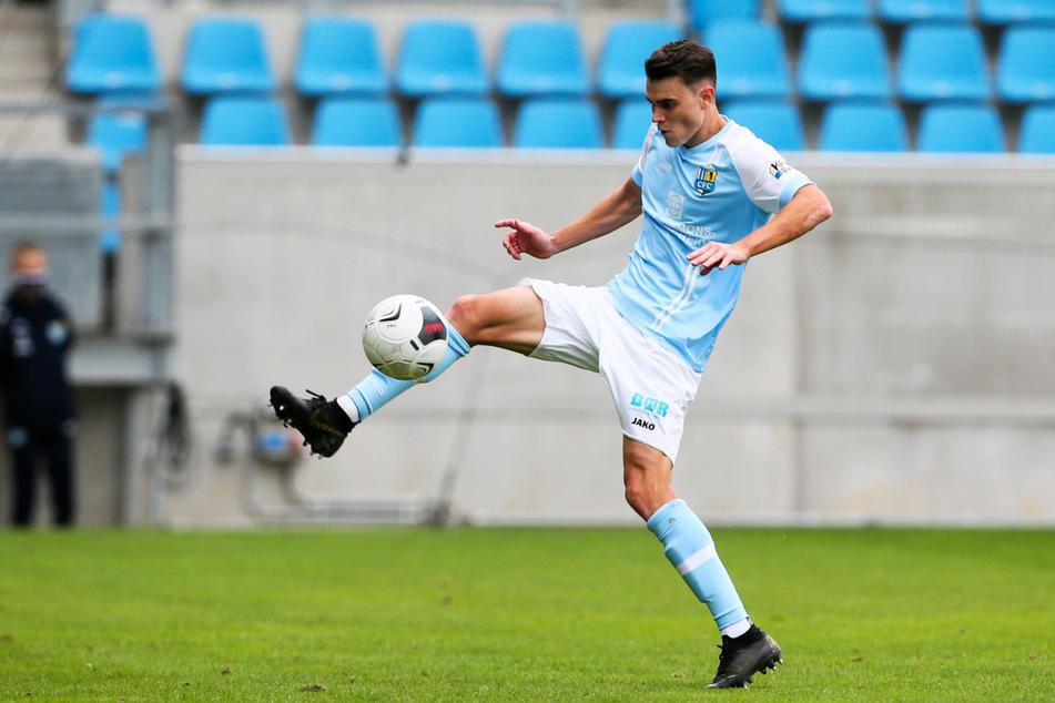 Lukas Knechtel (26) kam für den Chemnitzer FC auf 13 Einsätze.