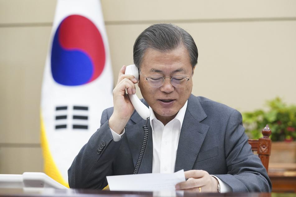 Moon Jae-in(67), Präsident von Südkorea. (Archivbild)