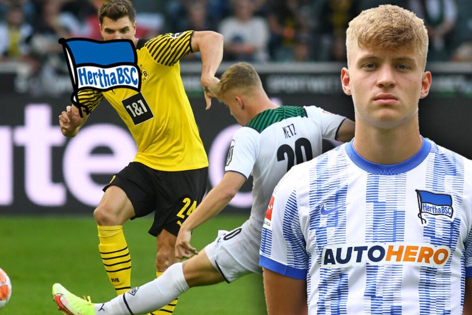 """Brisante Rückkehr von Luca Netz zu Hertha: """"Hoffe, er hält am Wochenende die Füße still"""""""