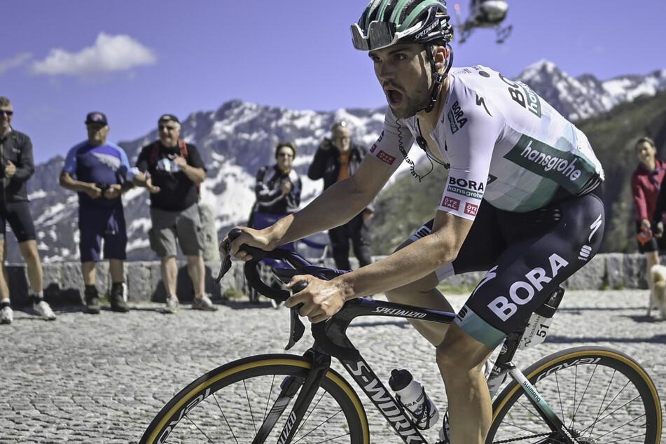 Hier bei der Tour de Suisse: Maximilian Schachmann (27).