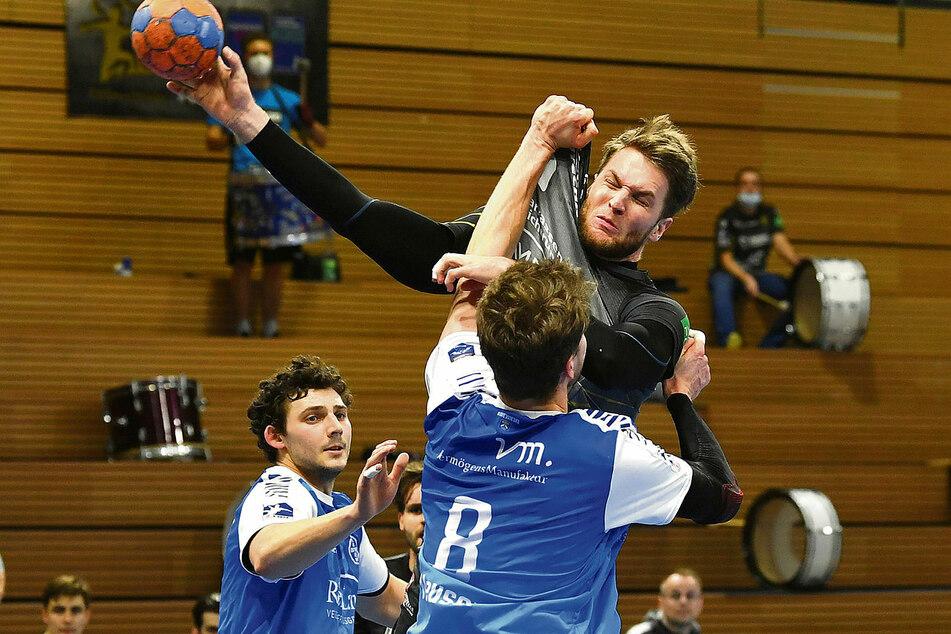 Kaum zu stoppen: Nils Kretschmer (hier gegen Dormagen am Ball) wurde im Verlauf der Saison immer stärker.