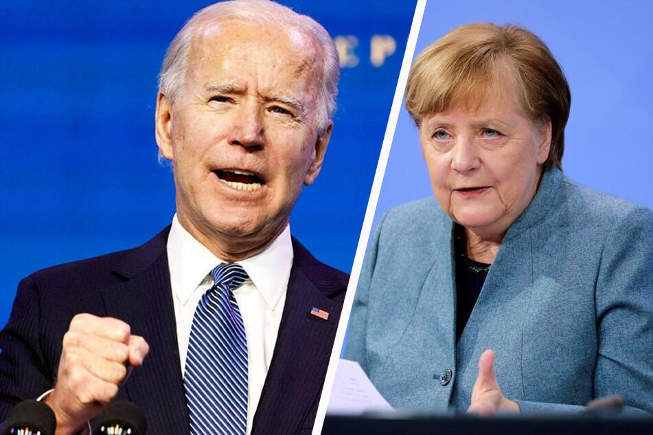 Biden und Merkel bei Münchner Sicherheitskonferenz