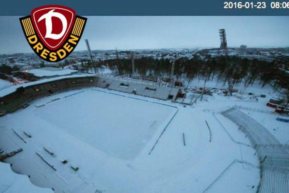 Entwarnung! Dynamo-Spiel in Erfurt findet statt!