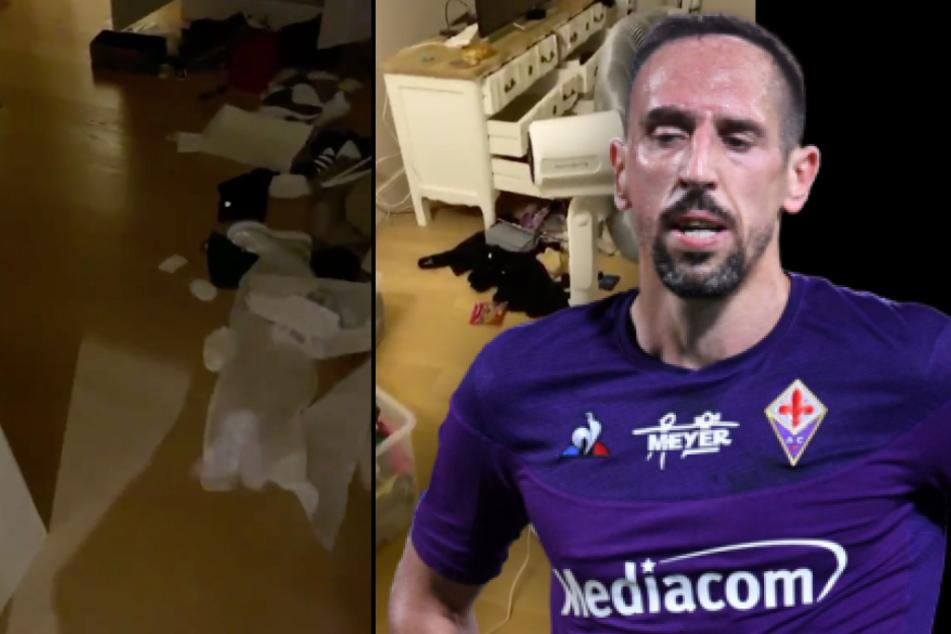Einbruch bei Franck Ribéry: Ex-Bayern-Star zeigt Spuren der Verwüstung!
