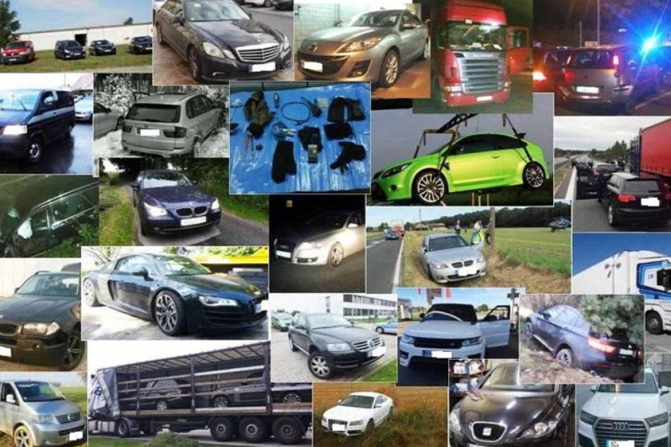 Polizei findet 500 Fahrzeuge wieder