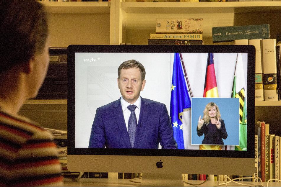 Michael Kretschmer, Ministerpräsident von Sachsen, bittet um Solidarität und Mitgefühl.