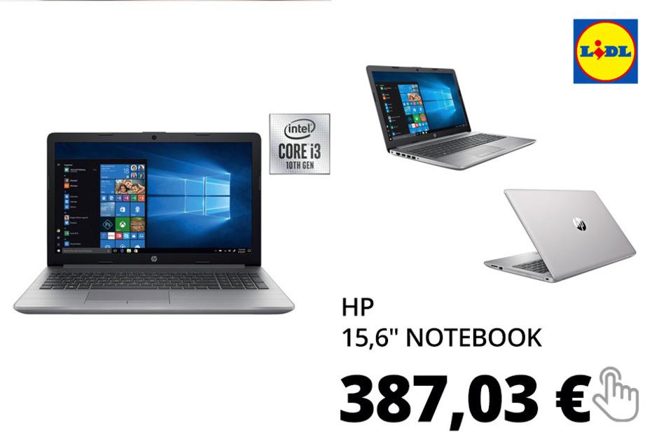 "hp 15,6"" Notebook 250 G7 1B7N6ES#ABD"