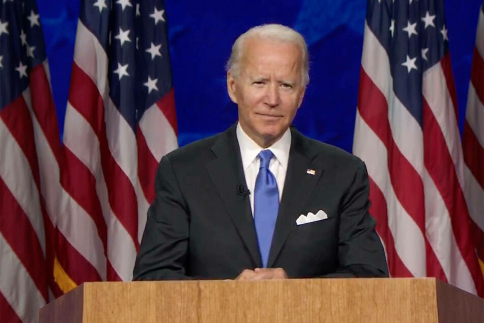 Joe Biden is still in the lead.