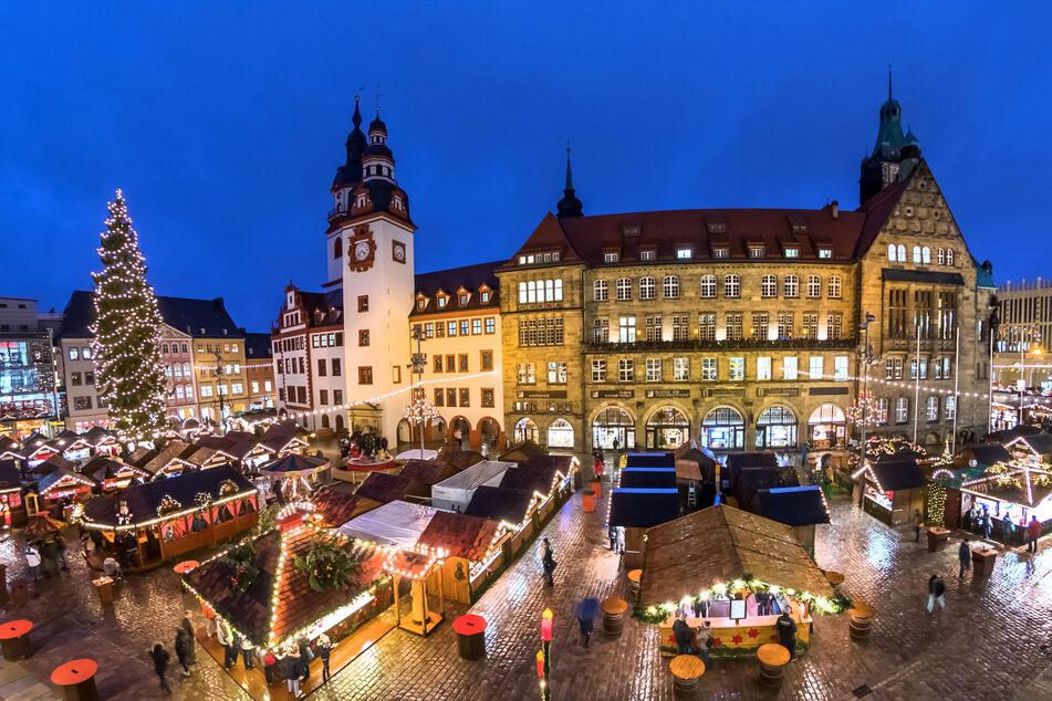 Der Chemnitzer Weihnachtsmarkt soll auch dieses Jahr stattfinden.
