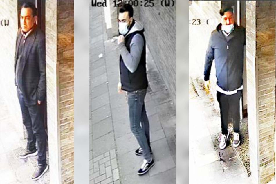 Fahndung nach Einbrecher-Trio in Köln: Wer kennt diese Männer?