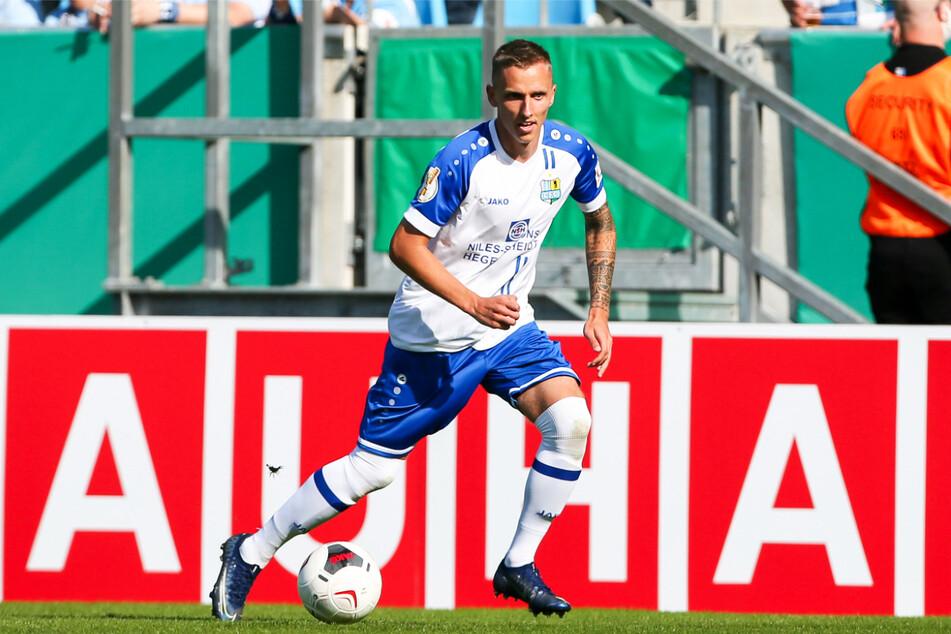 Paul Milde (26) bereitete in zwei DFB-Pokal-Krimis zwei CFC-Tore vor.
