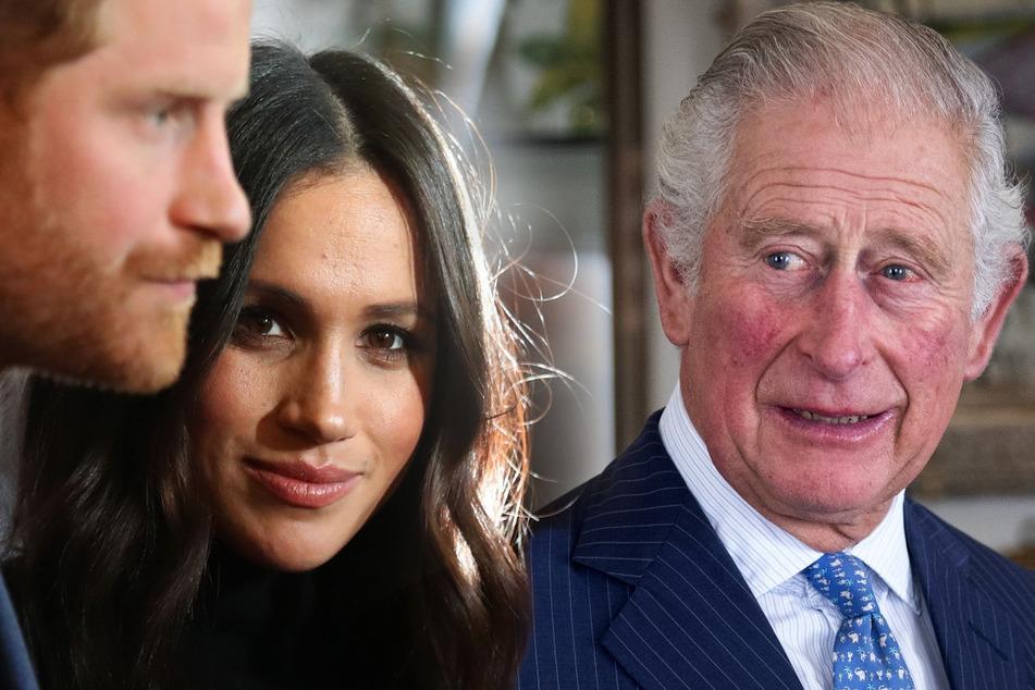Das droht Harry und Meghan, wenn Charles König wird