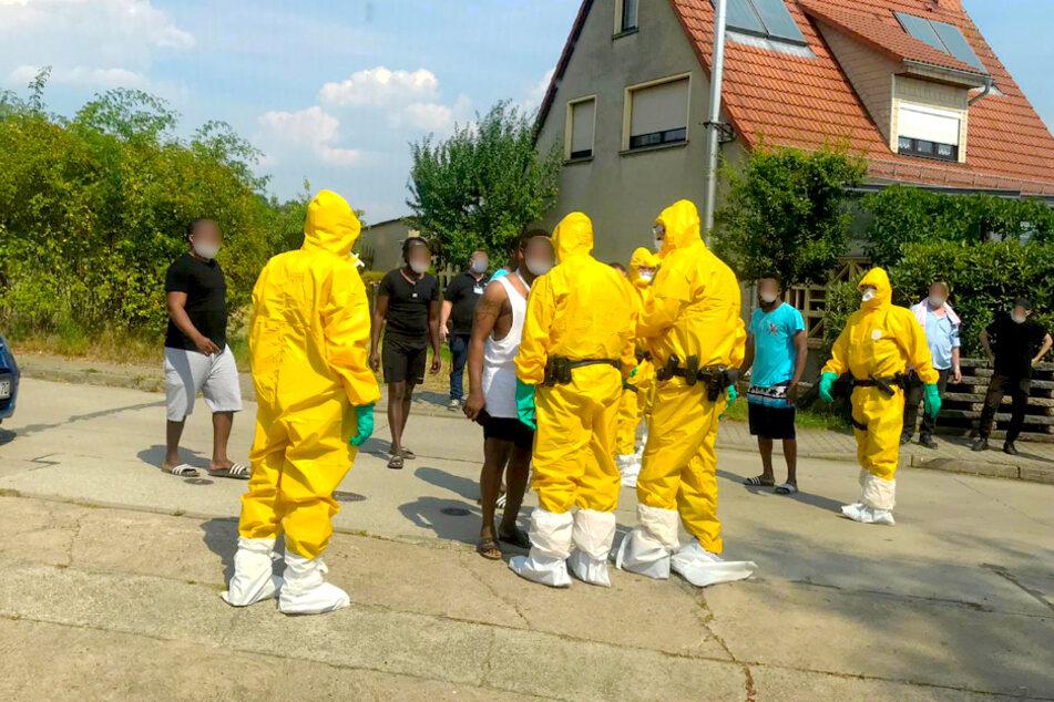 In einem Asylbewerberheim in Bad Belzig hat es am Nachmittag einen Polizeieinsatz gegeben.