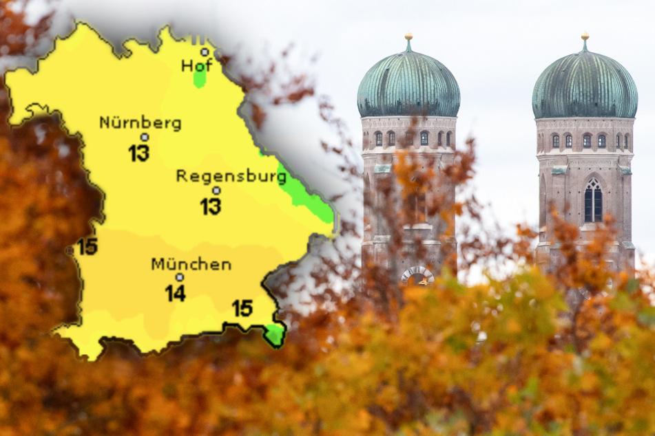 Windig und nass vor sonnigem Wochenende: So wird das Wetter in Bayern