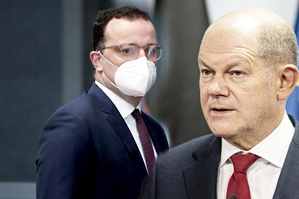 Corona-Krach um Impf-Debakel: Scholz attackiert Spahn mit Fragenkatalog scharf!